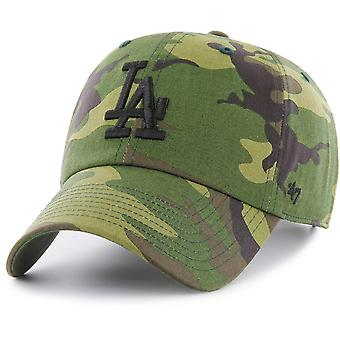 47 fire Adjustable Cap - MLB Los Angeles Dodgers wood camo