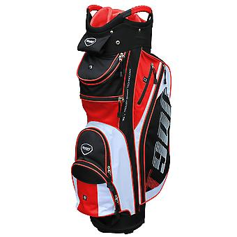 Masters T900 Trolley Cart Golf Bag Black/White/Red