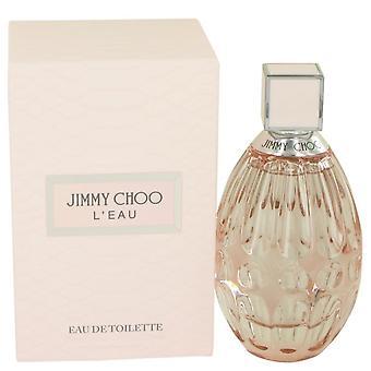 Jimmy Choo L'eau Eau De Toilette Spray By Jimmy Choo 90 ml