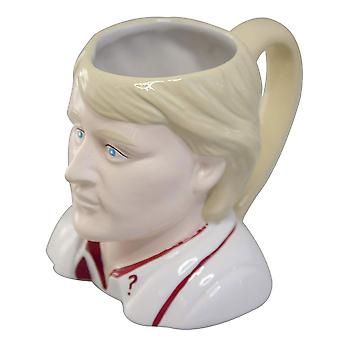 Doctor Who Fifth Doctor Toby 3D Mug