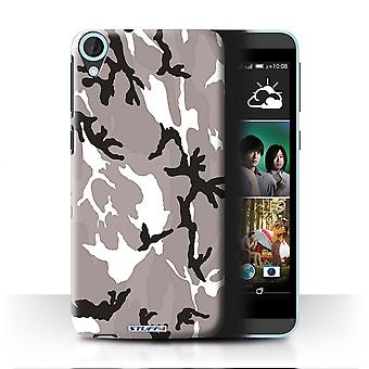 STUFF4/Housse pour HTC Desire 820/blanc 4/Camouflage Army Navy
