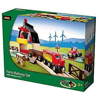 BRIO 33719 boerderij Railway Set