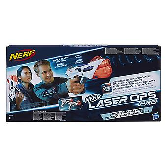 Nerf E2281EU4 Laser Ops Pro Alphapoint, Pack of 2