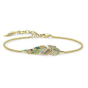 Thomas Sabo silver damarmband 925 A1749-471 -7-L19v