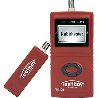 Testboy Testboy 28 Cable testers, network testers Suitable for USB, RJ11, RJ45 and BNC cables