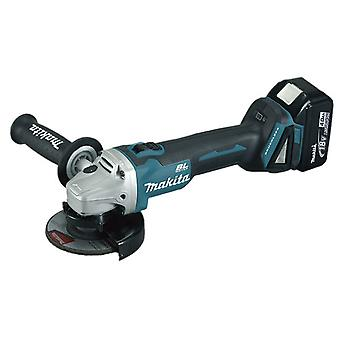 Makita DGA454RMJ Brushless Angle Grinder 18V 115 Mm 4,0 Ah.
