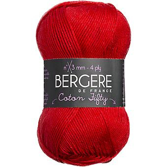 Bergere De France Coton Fifty Yarn-Ecarlate COTTON-23165