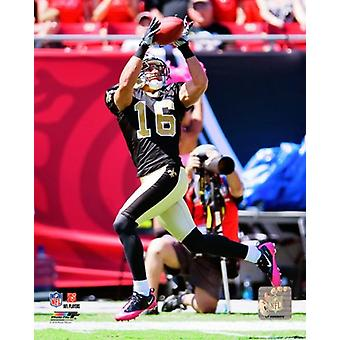 Lance Moore 2010 Action Photo Print