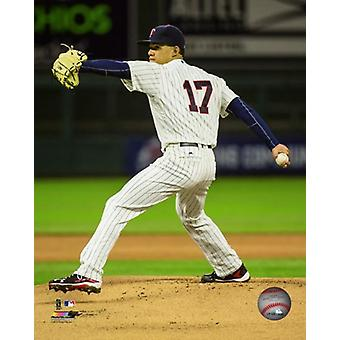 Jose Berrios 2016 Action Photo Print