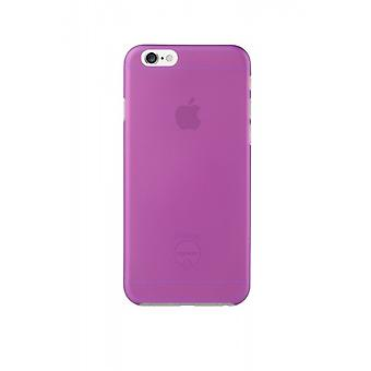 Ozaki OC555PU O! Coat jelly cover sleeve, iPhone 6 6S, purple