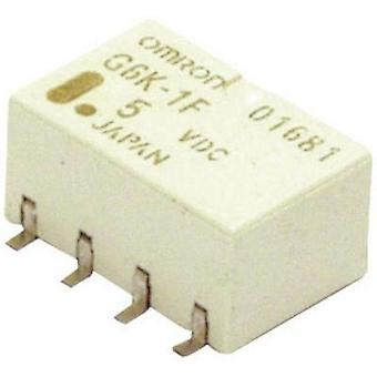 SMD relay 5 Vdc 1 A 2 change-overs Omron G6K-2F-Y 5DC 1 pc(s)