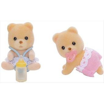 Sylvanian Families Grizzly Bears Twins