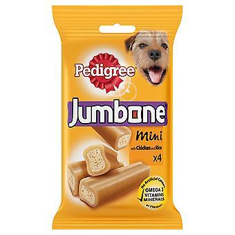 Stamtavla C & t Jumbone liten hund kyckling 4pc (x 8)