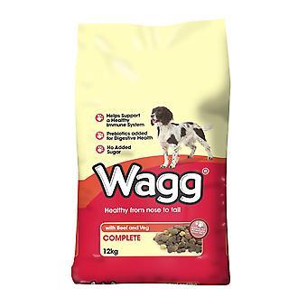 Wagg komplet oksekød & Veg 12kg