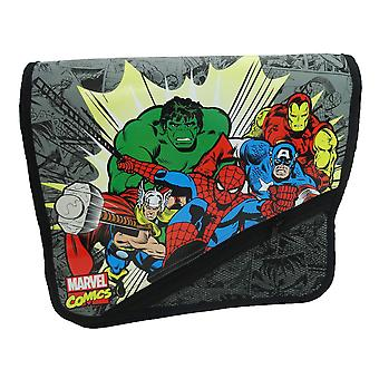 Marvel Avengers Kapow Courier Messenger Despatch Shoulder School Bag