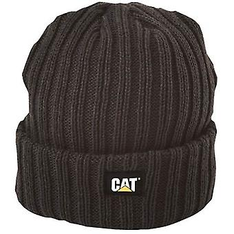 Caterpillar C443 Unisex Beanie Rib Watch Cap One Size Winter Headwear Clothing