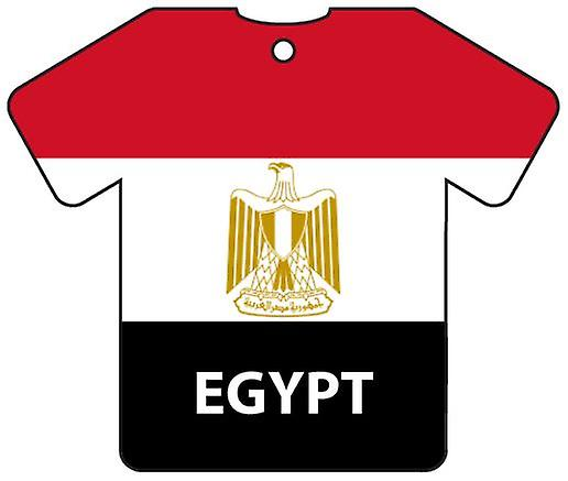 Personalised Egypt Flag Jersey Car Air Freshener