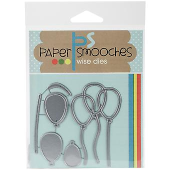Paper Smooches Die-Party Balloons FBD369
