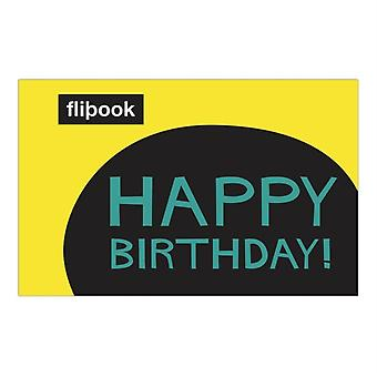Happy Birthday Flipbook by Knock Knock