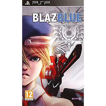BlazBlue Calamity Trigger Sony PSP spel