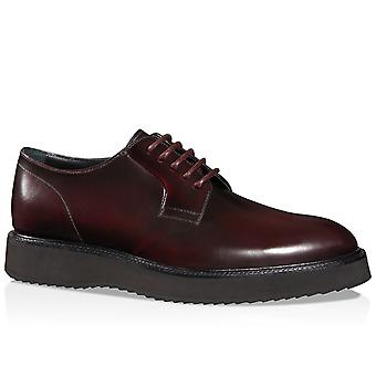 Hogan Route X H271 stringate in pelle Bordeaux