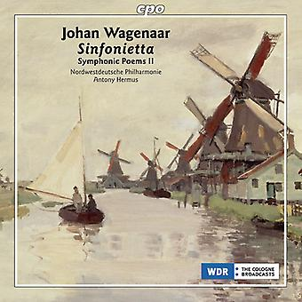 Wagenaar / Hermus / Northwest German Phil - Symphonic Poems 2 [CD] USA import