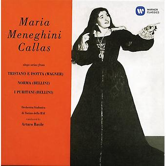 Callas/Basile/Rai orkest Turijn - eerste opnames (1949) [CD] USA importeren
