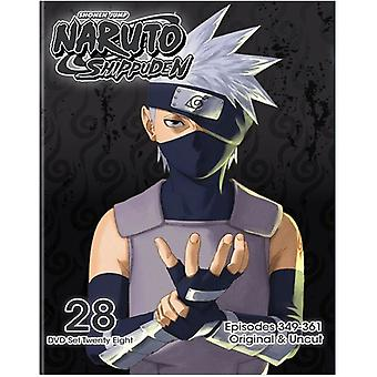 Naruto Shippuden Uncut Set 28 [DVD] USA import
