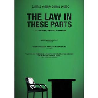 Law in These Parts [DVD] USA import