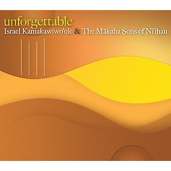 Iz Kamakawiwo'Ole, Israel & Makaha sønner - uforglemmelig [CD] USA importerer