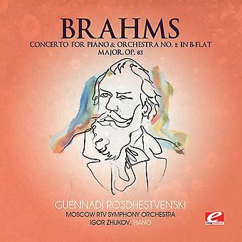 J. Brahms – Brahms: Koncert na fortepian & orkiestrę nr 2 w B-dur, Op. 83 [CD] USA import