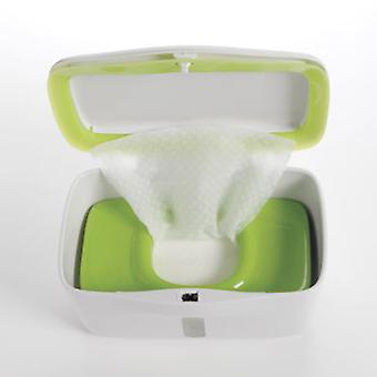 Oxo-Tot Big Wipes Dispenser With Green Weight (Childhood , Diaper and changers , Wipes)
