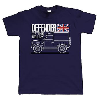 Defender of the Realm, Mens Off Road Tshirt
