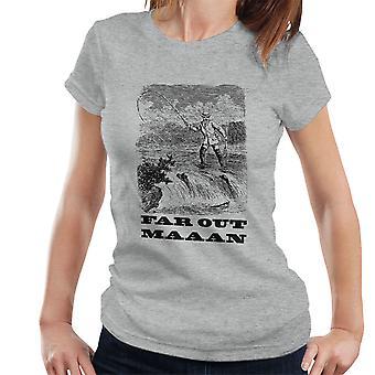 Primeros t-shirt homem pesca Vintage desenho feminino