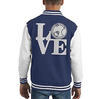 Doctor Who Love Gallifrey Kid's Varsity Jacket