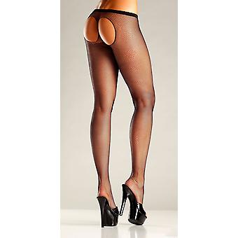 Be Wicked BW672 Sheer thong back pantyhose