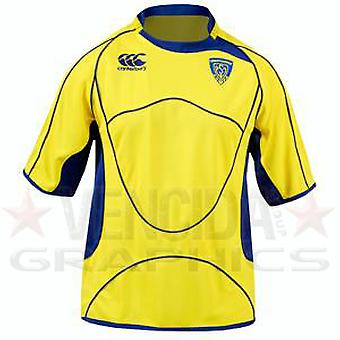 CCC clermont home pro rugby shirt