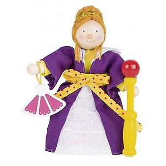 Goki Flexible puppet queen (Toys , Dolls And Accesories , Miniature Toys , Mini Figures)