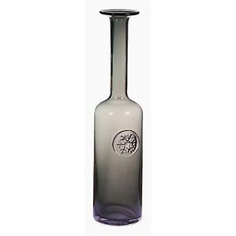 Bigbuy Gray Glass Vase (Decoration , Jars)