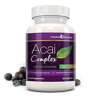 Acai Berry Complex 455mg - 60 Capsules (1 Month Supply) - Evolution Slimming