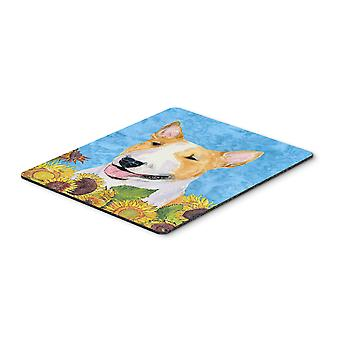 Carolines Treasures  SS4129MP Bull Terrier Mouse Pad, Hot Pad or Trivet