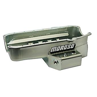 Moroso 21811 Oil Pan for Small Block Chevy Engine - 7 Quart Capacity