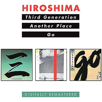 Hiroshima - Third Generation/Another Place/Go [CD] USA import