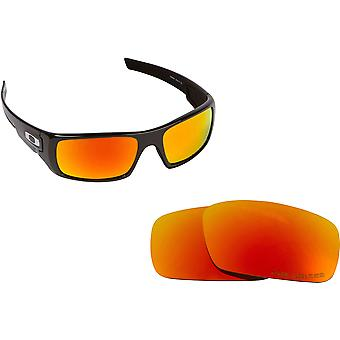 Best SEEK Polarized Replacement Lenses for Oakley CRANKSHAFT Yellow Mirror
