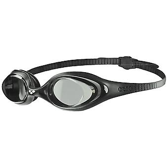 Arena Spider Adult Swim Goggle - Smoke Lens - Black