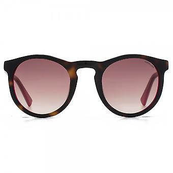 Hook LDN Parklife Sunglasses In Tortoiseshell On Pink