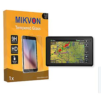 Garmin aera 660 Screen Protector - Mikvon flexible Tempered Glass 9H (Retail Package with accessories)