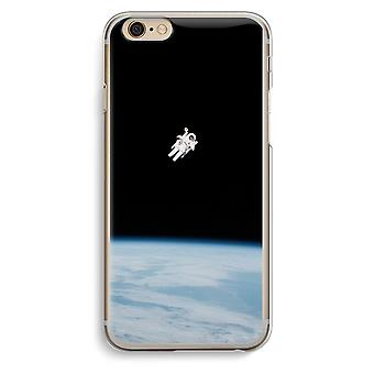 Iphone 6 6s Transparent Case (Soft) - Alone in Space