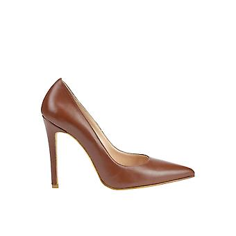 Andrea Pinto women's MCGLCAT03071E brown leather pumps