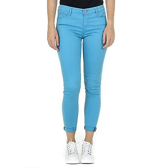 Andrew Charles Womens Trousers Light Blue Claire